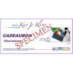 cadeaubon kleuradvies incl. luxe CMB-kleurenpaspoort